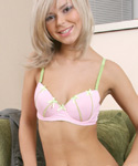 Young Blonde Undressing And Spreading Her Pussy Lips - Picture 5