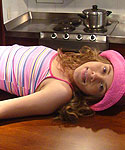 Liana Getting Wild In The Kitchen - Picture 9