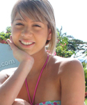 Teen Naked Poolside - Picture 1