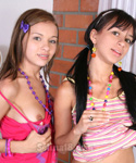 Lesbian Teen Getting Naughty - Picture 1