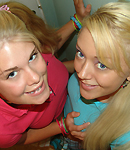 Blonde Lesbian Kissing - Picture 4