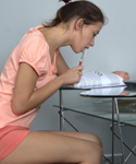 Teen Gets Wild After Reviewing Her Notes - Picture 1