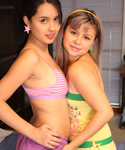 A Lesbian Friend Gets Naughty And Undressing - Picture 3