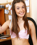 Cute Teen Naked On Her Computer - Picture 3